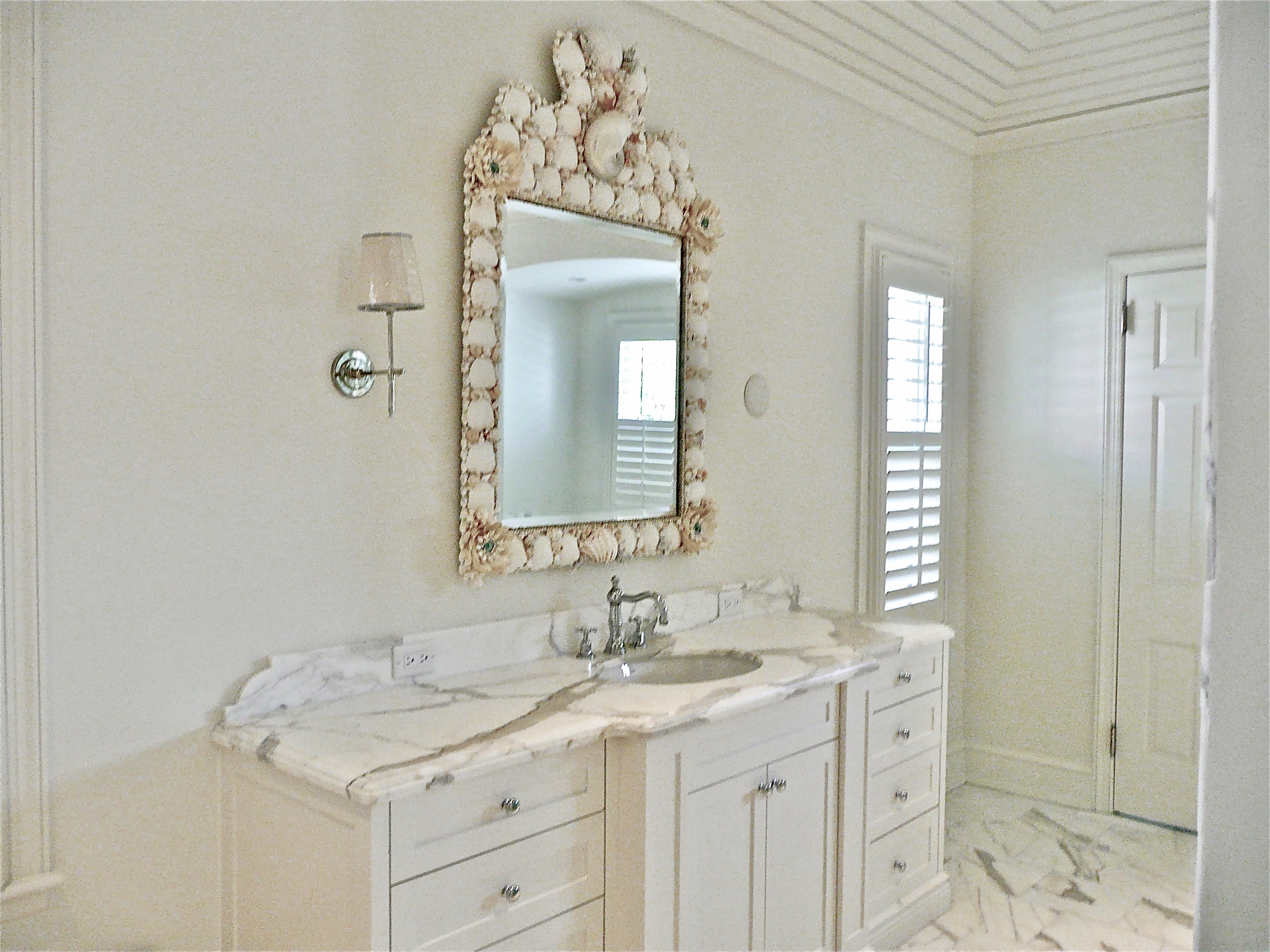 Her Bath Mirror
